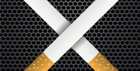 Cartoon image of cigarettes
